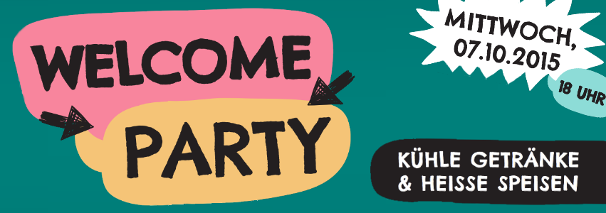 [07.10.2015] Welcome Party